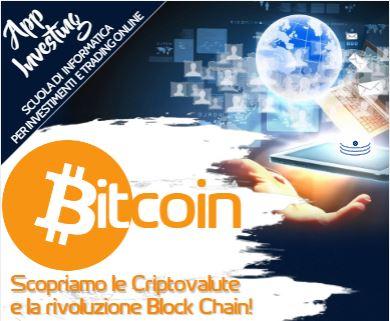 Corso per criptovalute e bitcoin